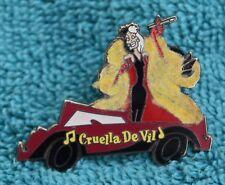 Disney Store Cruella De Vil 101 Dalmatians Magical Musical Moments Pin - Pins