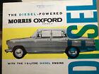 Car Brochure - 1963 Morris Oxford Diesel - UK