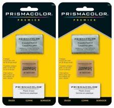 Prismacolor Premier 3 Unique Erasers Artgum Kneaded Rubber Plastic