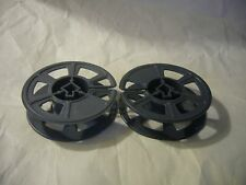 Lot of 2 Vintage 16mm Film Reels--holds 50 feet of film, 3 Inch