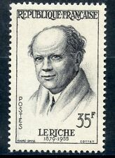 STAMP /  TIMBRE FRANCE NEUF N° 1145 * RENE LERICHE / NEUF CHARNIERE