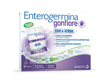 fermenti lattici GONFIORE 10 bustine tripla azione gas intestinali
