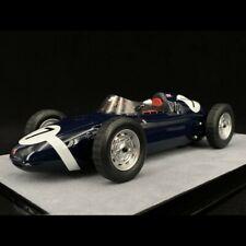 Porsche 718 F2 n° 7 Vainqueur B.A.R.C championship 1960 1/18 Tecnomodel TM18-136