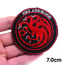 Toppa Termoadesiva Game of Thrones House Targaryen Patch Tessuti