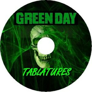 GREEN DAY BASS & GUITAR TAB CD TABLATURE GREATEST HITS BEST OF PUNK ROCK MUSIC