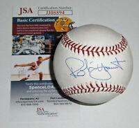 BREWERS Robin Yount signed baseball MLB JSA COA Autographed Milwaukee HOFer