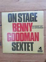 Benny Goodman Sextet On Stage With Benny Goodman & His Sextet Vinyl LP