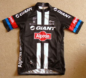 """PERFECT CONDITION GIANT ALPECIN PRO TEAM JERSEY. SMALL 38"""" CIRCUMFERENCE"""