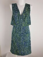 SIMPLY VERA by Vera Wang Sheath Dress Women's Size 8 Vented Crossover Bust Top
