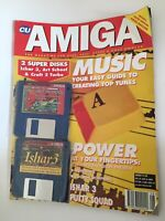 CU Amiga Magazine August 1994 With Art Cover Disks Sealed And Attached