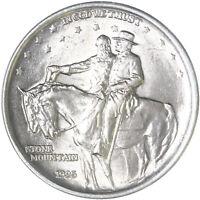 1925 Stone Mountain Classic Commemorative Half Dollar 90% Silver BU