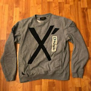 10. Deep Gray Sweatshirt Size 2XL XXL Terrible Tenth Division DXXP USA