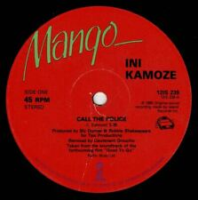 "INI KAMOZE-call the police    mango  12""   (hear)   reggae"