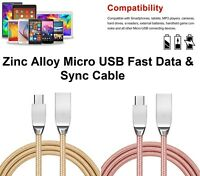 2.4A Micro USB Fast Charging Phone Data Charger Cable for Samsung Android HTC