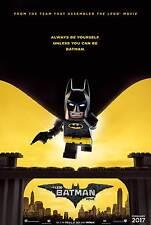 The Lego Batman Movie Original Movie Poster – Cape Advance Style