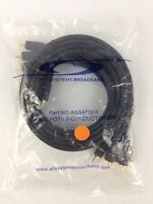 All Systems Broadband Cable HDTV 5 Conductor Cable 6 feet ASB4700-6