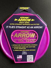 Aerobie Flying Disc Arrow Approach And Putter Golf Disc 5.9oz 164-166 Grams