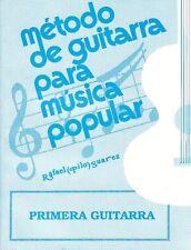 Método para Primera Guitarra Vol 1 Pilo Suarez