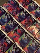 TOPPS TROLLS WORLD TOUR TRADING CARD PACKETS x 50 SEALED PACKS Cards New