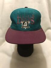 Vintage Anaheim Mighty Ducks AJD Snapback Hat
