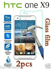 2x HTC One X9 Tempered Glass LCD Screen Protector Film Guard