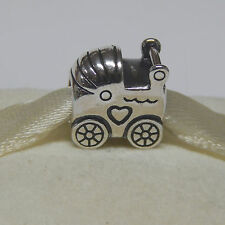 New Authentic Pandora Charm 790346 Baby Carriage Bead  Box Included