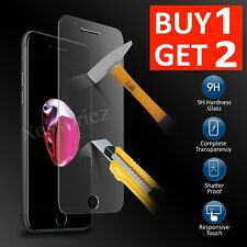 For Apple iPhone 7 Glass Screen Protector - 100% Tempered Buy 1 Get 2