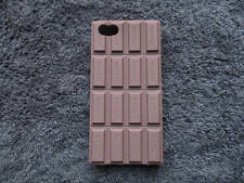 Cute Soft Silicone Novelty Chocolate Bar Phone Case Cover FOR iPhone 5 5S SE