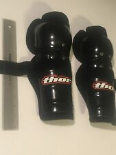 Thor Motocross Off Road Youth Large 24 26 Knee Shin Guards * Brand New Protec