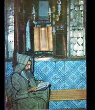 JERBA (TUNISIE) PIEUSE LECTURE à la SYNAGOGUE de LA GHRIBA