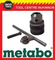 """METABO 13mm ALL METAL 3/8""""-24 UNF KEYED CHUCK – MADE IN GERMANY"""