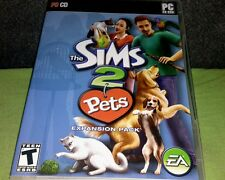 THE SIMS 2 PETS Expansion Pack  (PC, CD-ROM, 2006) COMPLETE