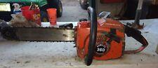 "Vintage homelite 360 chainsaw homelite parts saw 16"" saw"