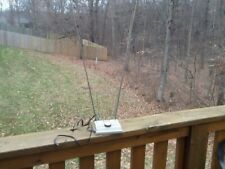 Vintage Channel Master Rabbit Ears TV Television Antenna UHF VHF