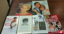 Lot of 6 Princess Diana Royal Family Hardcover Books England Wales