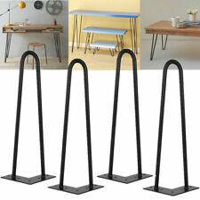 Premium Hairpin Table Legs Set of 4 + FREE Screws & Protector -Hairpin Table Leg