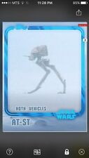 Topps Star Wars Digital Card Trader Blue AT-ST Hoth Insert