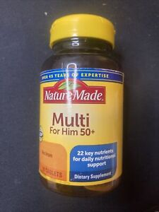 Nature Made Multi for Him 50+ Dietary Supplement - 90 Tablets