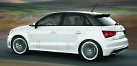 Audi A1 SIDE SKIRTS S-Line look for 3 & 5 door model !!! NEW !!! NEW !!!