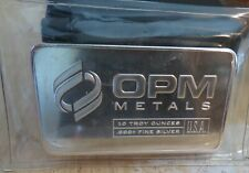 10 oz OPM Silver Bar