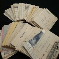 Ephemera lot  junk journaling scrapbooking vintage 3/4 lb receipt paper cut B7