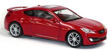 Hyundai Genesis Sammlermodell ca. 1:43 / ca. 9-10 cm rot von Welly