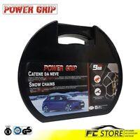 GR Catene Neve Power Grip 7mm gruppo 120 gomme 245//40R18 Subaru Impreza III **