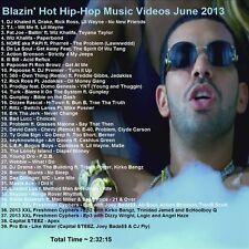 Promo Video Compilation DVD, Blazin Hot Hip Hop June 2013, NEW ONLY on EBAY!!