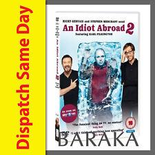 AN IDIOT ABROAD 2 - SEASON Series 2 - DVD R4 DVD Box set
