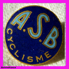 BG3018 INSIGNE ASB CYCLISME