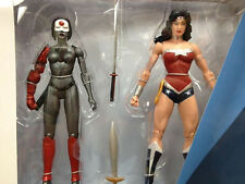 DC Collectibles_WONDER WOMAN vs KATANA  6 inch figures_Justice League 2 Pack_MIB