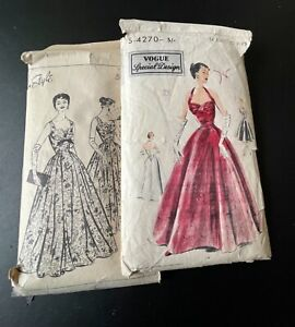 Vintage Vogue/Style Evening Dress Patterns