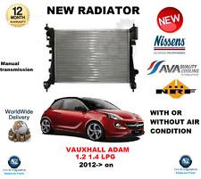 für OPEL ADAM 1.2 1.4 LPG 2012- > nach Neu Motorkühler OE-Qualität
