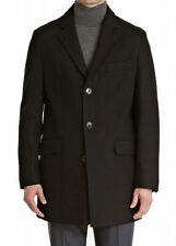 Bar III Men's Slim-Fit Overcoat Wool Blend Coat Jacket Black 40R RRP $350 US